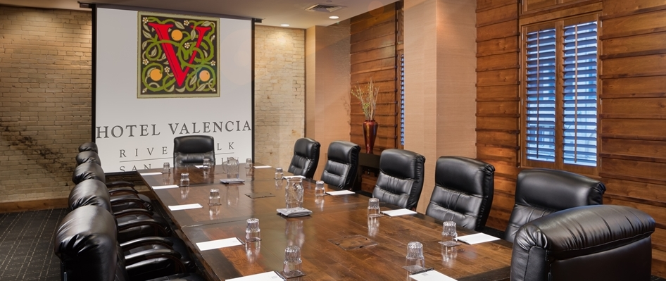 Hotel Valencia Riverwalk Boardroom Meeting