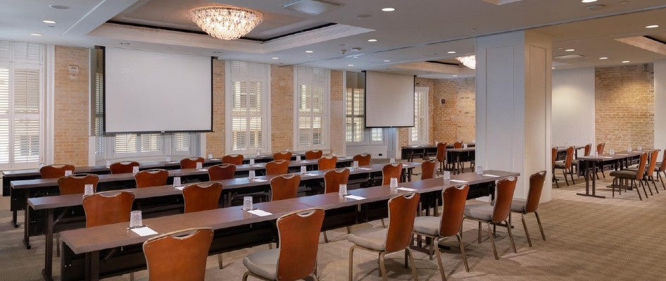 Verona Classroom set-up at Hotel Valencia Riverwalk