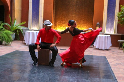 Tango In The Courtyard Package