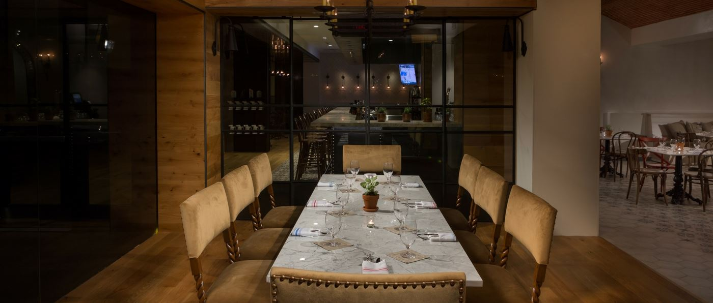 Private dining room at Dorrego's