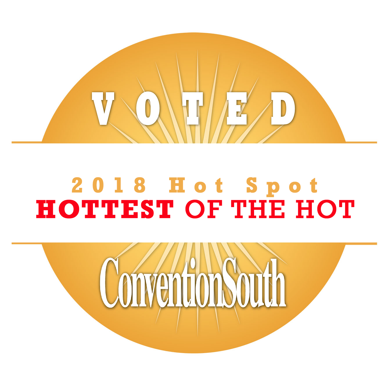 2018 Hot Spot Convention South Award